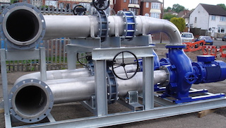 Swimming Pool Pumping Systems manufactured in 316SS
